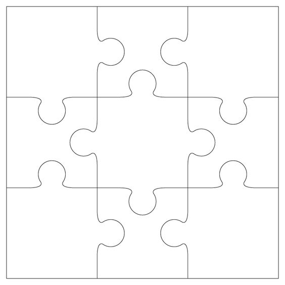 Puzzles, Templates and Bird cards on Pinterest
