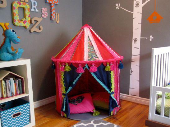 Kids Backyard Fun: Ikea Tent Hack!