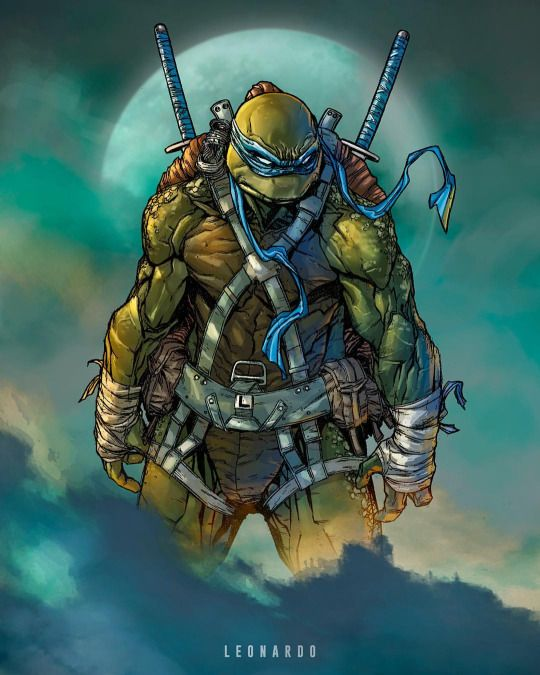 Leonardo Comic Art Pinterest Ninja Turtles Teenage Mutant Ninja Turtles And Turtles