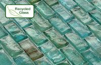 Recycled Glass Mosaic Tile,Only $13.99 sqft ,backsplash ...