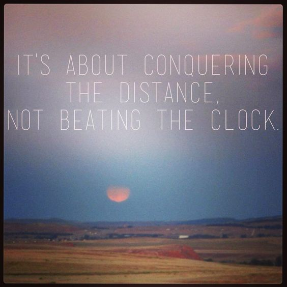 """""""it's about conquering the distance..."""":"""