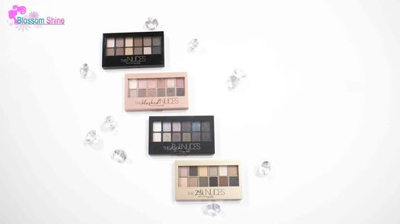 The Maybelline Dare To Be Nudes Family