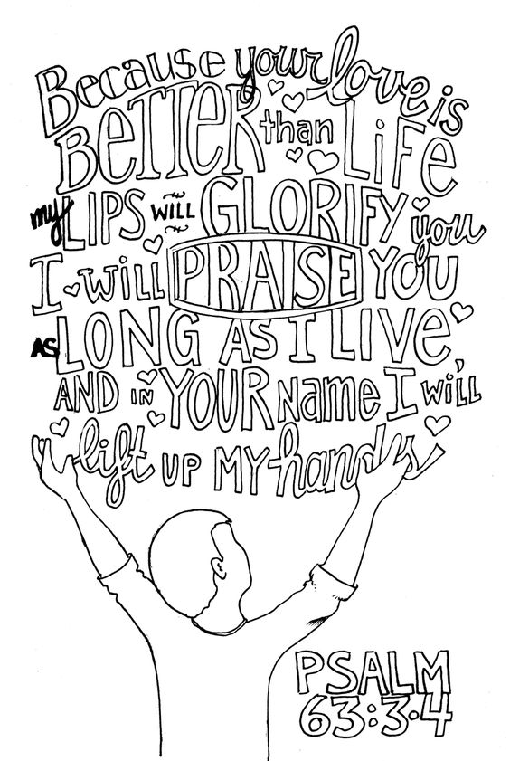 Psalm 63, Psalms and Coloring pages on Pinterest