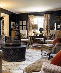 living-room-decorating-ideas-in-black-walls-home-decor ...