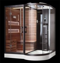 Shower Sauna Combination || Steam Shower | Infrared Sauna ...