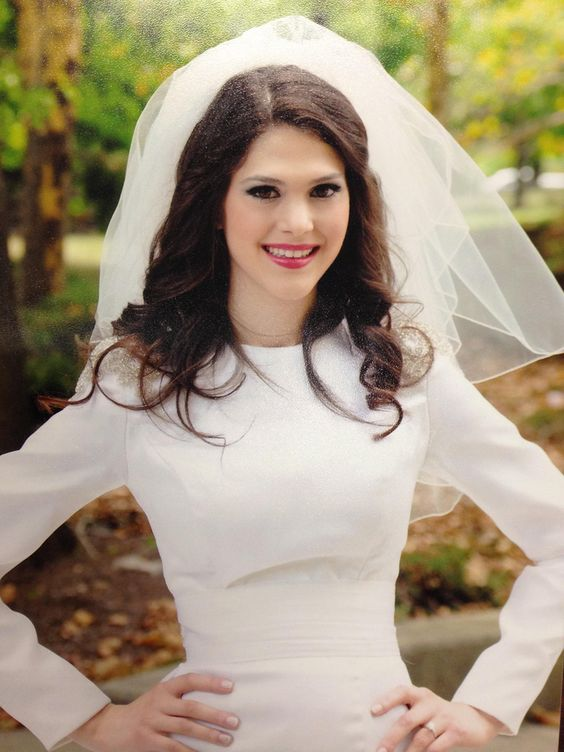 Modest Wedding Dress with Sleeve
