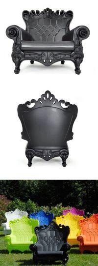 Baroque Plastic Chair | randomus awesomeus | Pinterest ...