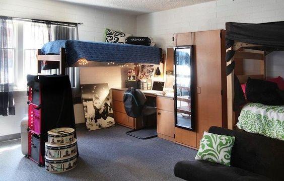 triple dorm room ideas - Google Search: