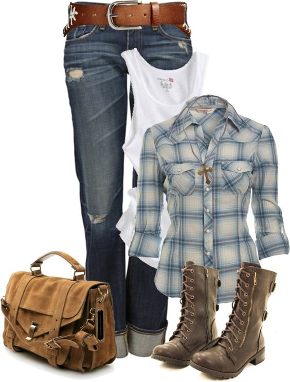 Outdoor hiking or horse riding type outfit with the boots, much likeness: