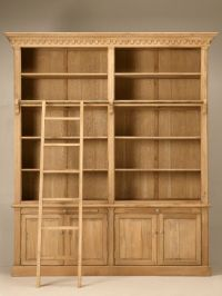 Rustic Industrial Bookcase Ideas - http://www.vue9.com ...