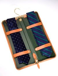 Brooks Brothers Travel Tie Keeper- what a great idea ...