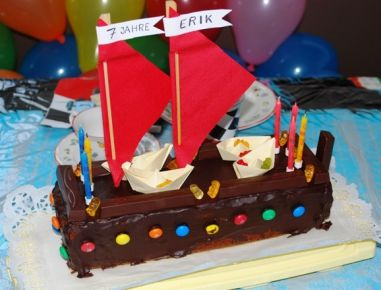 PiratenschiffTorte  Rezept  Sweet Cakes  Pinterest  Torte