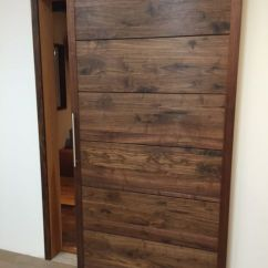 Daybed In Living Room Ideas Grey And Sage Green Black Walnut Barn Door | Wph - Doors Pinterest ...