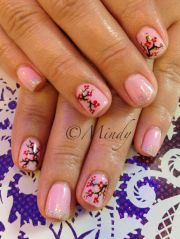 gel polish year nail art