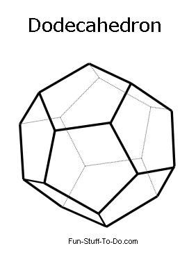Shape, 3d geometric shapes and Gift box templates on Pinterest