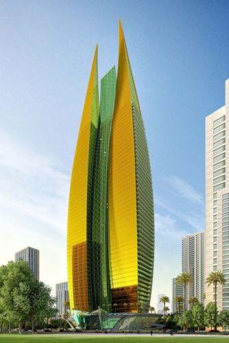 Dubai Flame Tower