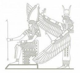 Ancient Egyptian Art Coloring Pages Free Colouring