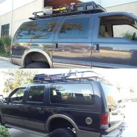 Aluminess roof rack for @dannymillerkidd Ford Excursion ...
