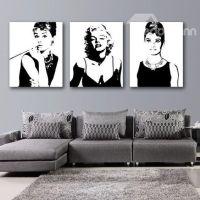 Marilyn Monroe and Audrey Hepburn Wall Art Prints. This ...