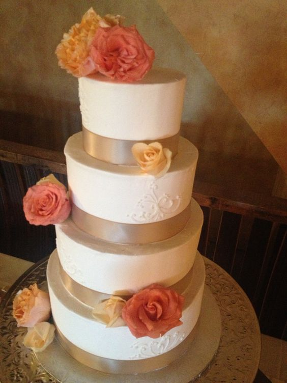 Champagne wedding cakes Wedding and Champagne on Pinterest