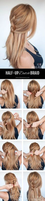 easy everyday hair - dutch