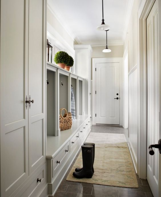mudroom-cabinets - Julie Blanner entertaining & design that celebrates life: