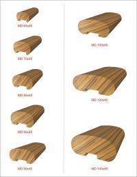 wood-handrail-profiles | handrails | Pinterest | Stairs