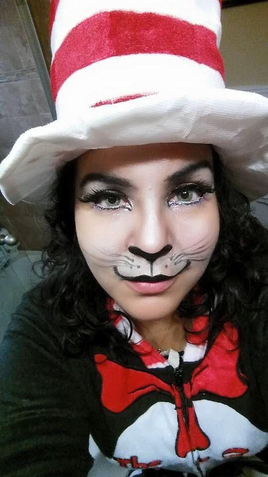 The Cat In Hat Makeup Tutorial Makeupview Co