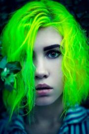 neon green favorite color