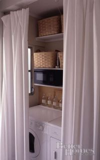 Washers, The doors and Laundry closet on Pinterest