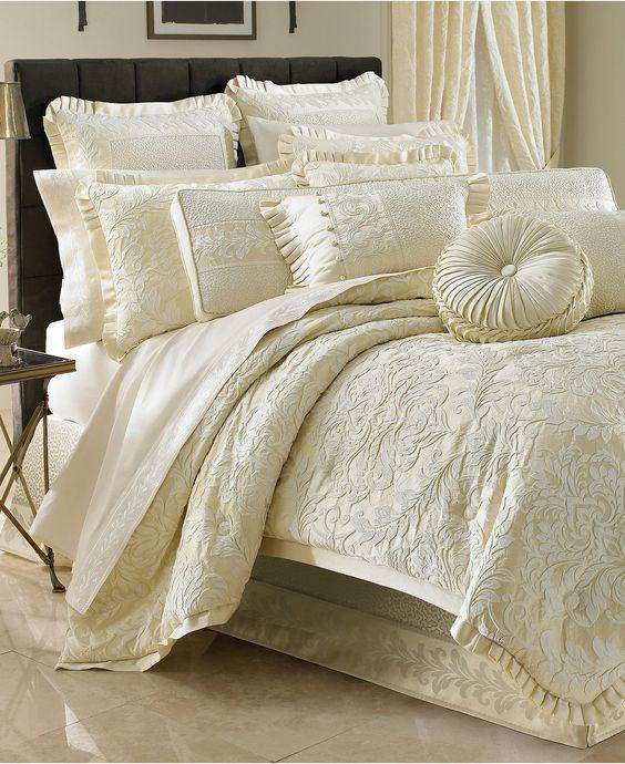 J Queen New York Bedding, Marquis Comforter Sets