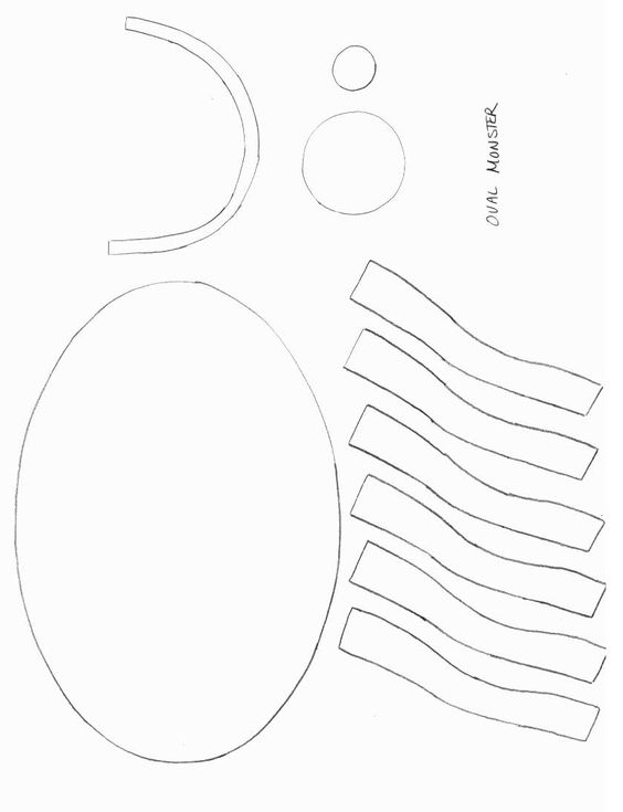 Crafts, Shape and Templates on Pinterest