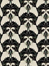 art deco pattern.motif. peacock. wallpaper. Designer ...