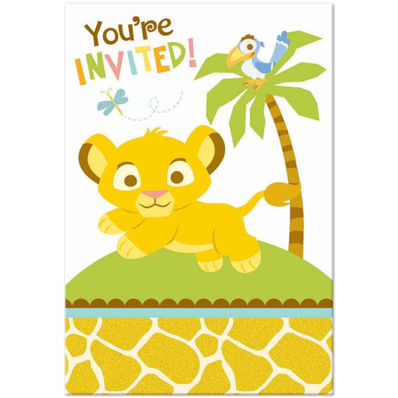 Lion King Baby Shower
