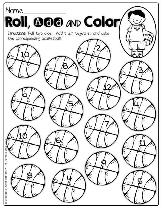 Dice, Basketball and Math on Pinterest