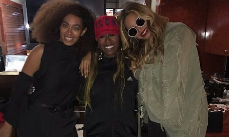 Beyonce & Solange Show Support For Missy Elliott As She Performs First Solo Show In The States