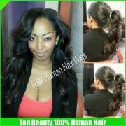 black updos wigs with bangs