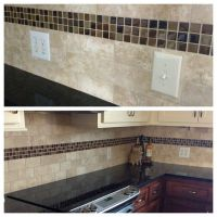subway tile with accent tile | 2013 Kitchen Reno ...