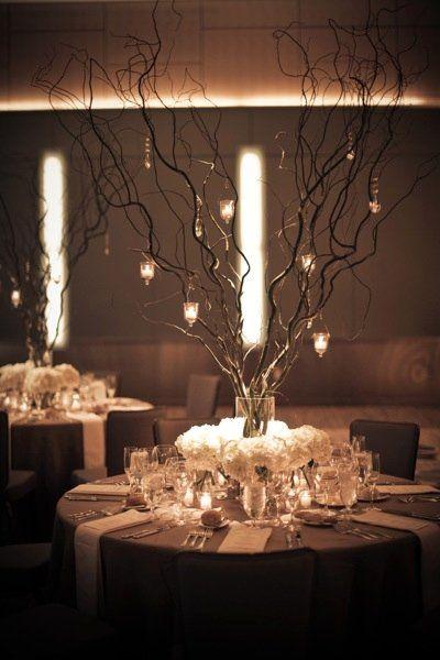 1000 Ideas About Branch Wedding Centerpieces On Pinterest