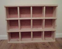Handmade Wooden Pigeon Hole Storage Unit Cubby Hole Shelf ...