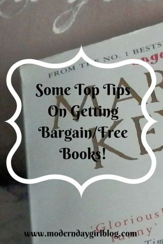 6 Top Tips On Getting Bargain/Free Books!:
