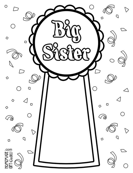 Coloring, Coloring pages and Sisters on Pinterest