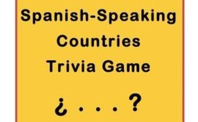 Spanish Speaking Countries Trivia Game Le Veon Bell Dr