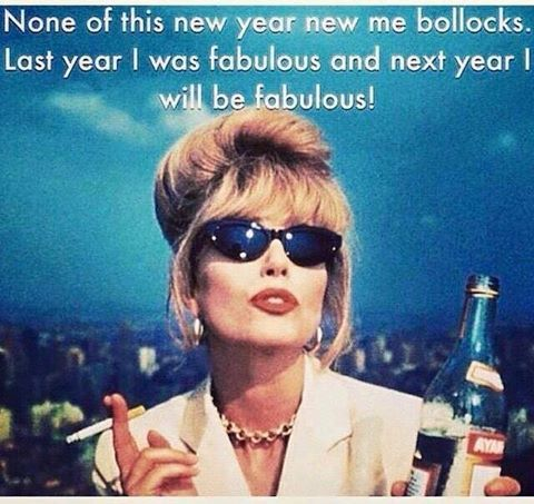 Image result for joanna lumley new year bollocks