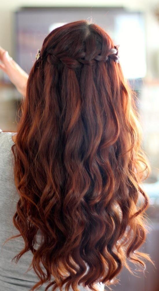 cabello ondulado mujeres