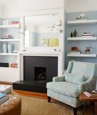 fireplace & built-in shelves. | HOUSE // Style | Pinterest ...