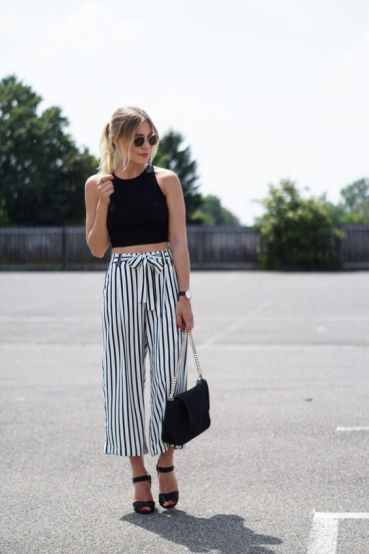 Culottes are the best boho outfits for any trip!