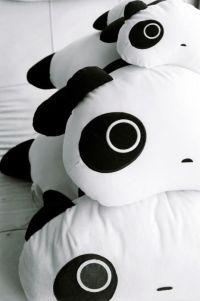 panda pillows | Kawaii Things | Pinterest | The medium ...