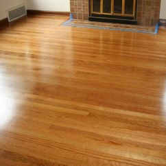 Dark Oak Floor Living Room How To Put Furniture In Small Red Hardwood, Natural Swedish Finish (refinished 15 ...