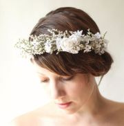 wildflower - dried flower crown